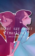 Never Say Never (Marliza) by iwritestuffzz