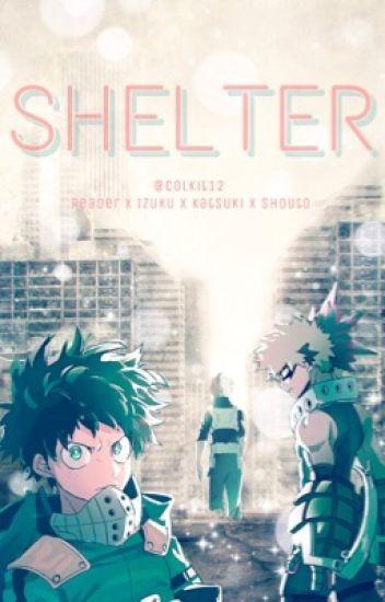 Shelter [Reader x Shouto Todoroki, Katsuki Bakugou, Izuku Midoriya