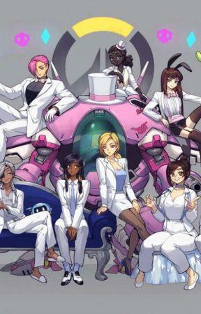 Overwatch Ladies x Female reader - SombraxNeko!Reader(Lemon