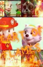 Heart of flames-Paw patrol by LittlePerlove