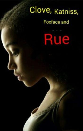 Clove, Katniss, Foxface and Rue