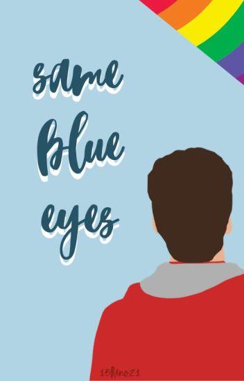 Same blue eyes
