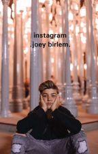 instagram .joey birlem.  by multifandom08