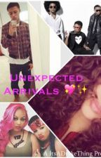 Unexpected Arrivals ( A Diggy Fanfic) by ItsADrakeThing