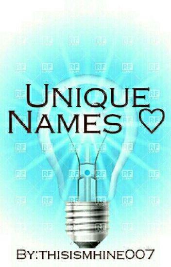 Unique Names ♡
