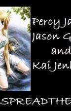 Percy Jackson-  Jason and Kai's story. by likeabossbish