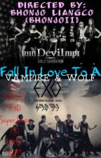 Fall in love to a Vampire and Wolf by ParkMinJin