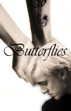 Butterflies~Drarry by gaycxbello