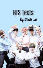 BTS Texts  by Nabi-ssi