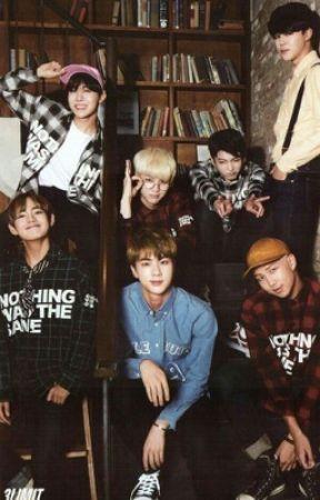 Seven Dorky Boyfriends =BTS OT7 chat fic= - ??? Taes skin