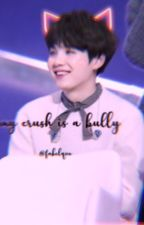 my crush is a bully // min yoongi x reader [SLOW UPDATES] by looove-shot