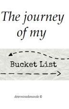 The journey of my bucketlist by determinedamanda