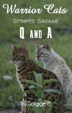 Striped Savage Q&A Book by Saigge16