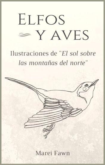 """Elfos y aves. Ilustraciones de """"El sol sobre las montañas del norte"""""""