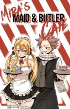 ⏩Mira's Butler and Maid Cafè   Fairy Tail by denby_alyssa