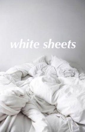 white sheets   j.j.k • k.t.h by bananabrread