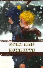 Spaz and Noirette by Notafruit1752