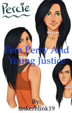 Fem Percy Jackson and Young Justice  by tinkerblink19