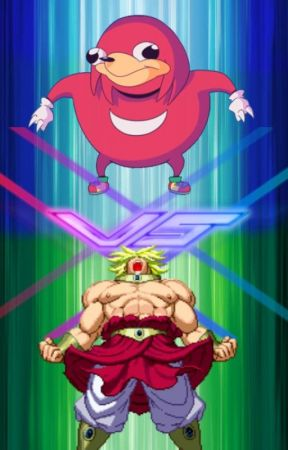Ugandan Knuckles vs Broly by RapterDanny