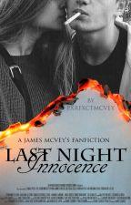 Last night: Innocence. {James McVey} by pxrfxctmcvey