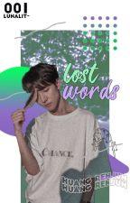 lost words | huang renjun by lunalit-