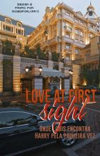 love at first sight 》 l.s by rosesforlxrry
