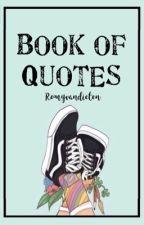 Book of Quotes by romyvandieten