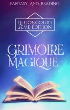 Concours grimoire magique [OUVERT] by Fantasy_and_Reading