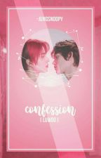 confession || woocas/luwoo by -jungsnoopy