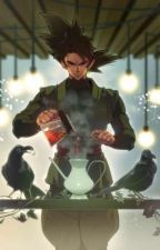 Goku Black X Reader  by PizzaRollsBOII