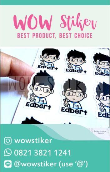 Buat Stiker Nama Online Contoh Stiker Label Wa 0896 787878 72