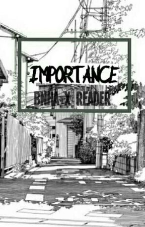 IMPORTANCE {BNHA x READER}  by iiNEONZ