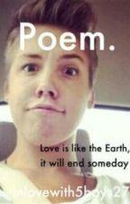 Poem. (Matthew Espinosa ff) by AlexaEspinosa10