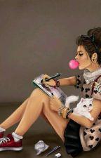 A teenage girl! by sabinagremshi