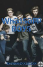 Whatsapp boys by nienkexx1811xx