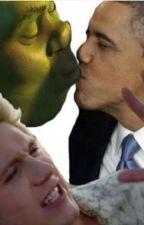 Shrek X Obama by Shanicetheweirdo