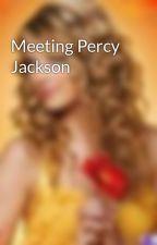 Meeting Percy Jackson by BritneyStellar