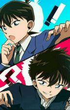Conan, Kaito Kid y la Gema Oculta.  by jeniferreyes111202