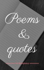 Poems & Quotes by Vanillahx