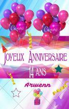 Joyeux Anniversaire Arwenn by JimmyX32