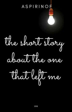 Короткая история о той, что меня покинула by aspirinof