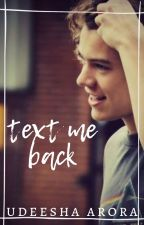 Text Me Back (h.s) by CoffeeArtist