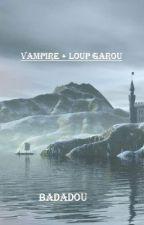 Vampire+Loup Garou by Badadou