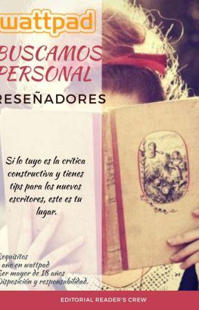 ¿Quieres ser parte del Equipo Reader's? by ReadersCrewRC