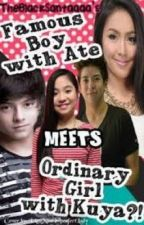 Famous boy with ate Meets ordinary girl with kuya (Ongoing) by michellemae343