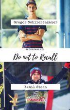 Do not to recall - Gregor Schlierenzauer i Kamil Stoch. by Skokiismylife1