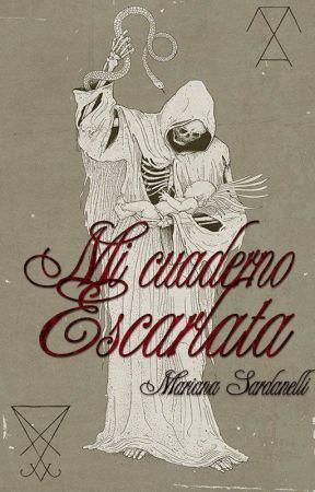 Mi cuaderno escarlata by MarSardanelli