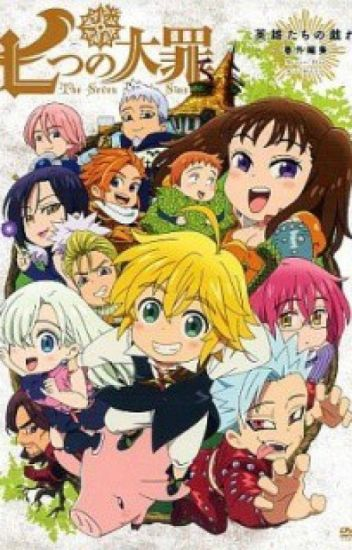 Seven Deadly Sins x Male Reader