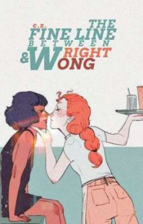 THE FINE LINE BETWEEN WRIGHT AND WONG by YORUBOY