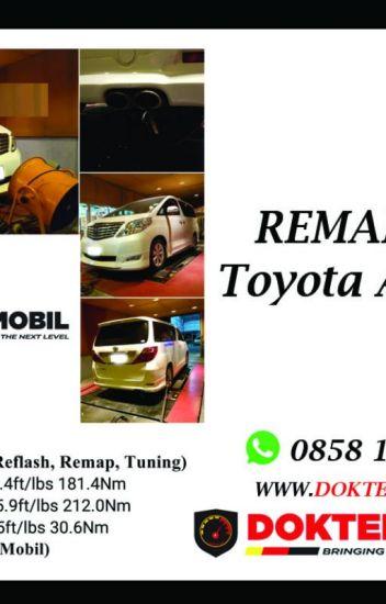 Remap Ecu Toyota ALPHARD V6 Jakarta - Dokter Mobil WA : 0858